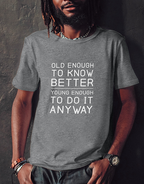 clothing: Do It Anyway T Shirt!