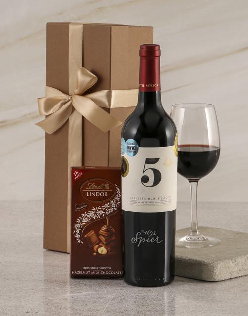 fine-alcohol: Spier Creative Block 5 Duo Gift Box!