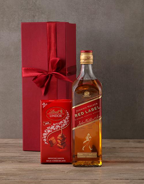 valentines-day: Johnnie Walker Red Gift Box!