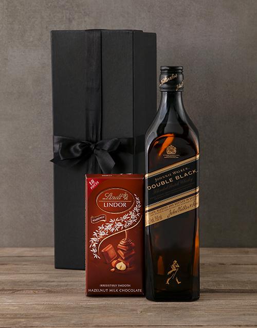 birthday: Johnnie Walker Double Black Gift Box!