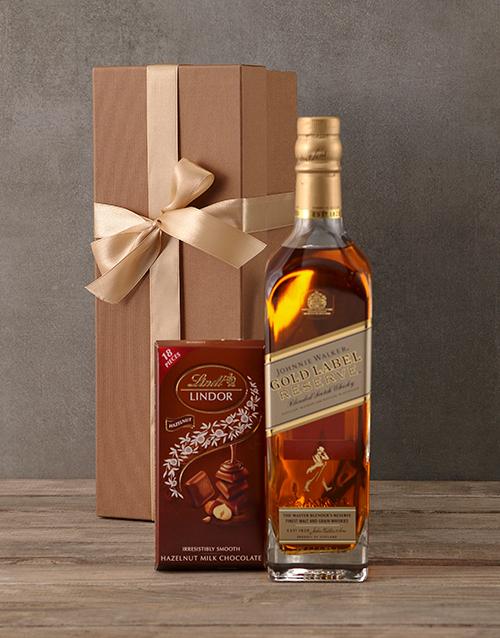 christmas: Johnnie Walker Gold Gift Box!