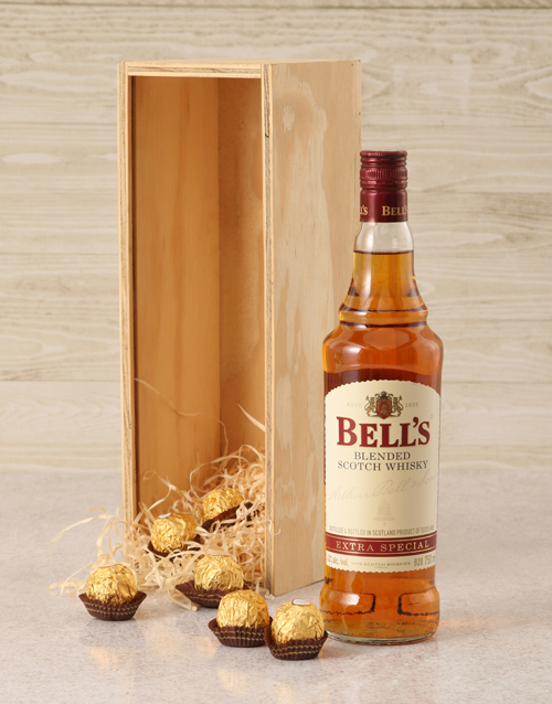 valentines-day: Bells Whisky Crate!