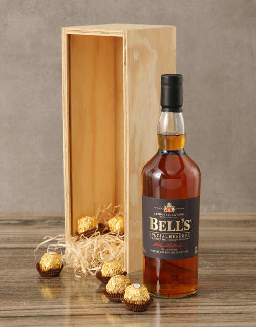 valentines-day: Bells Special Reserve Pure Malt Crate!