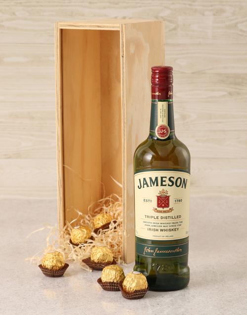 christmas: Jameson Irish Whiskey Crate!