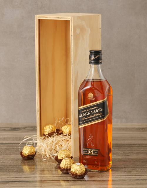 fine-alcohol: Johnnie Walker Black Label Crate!