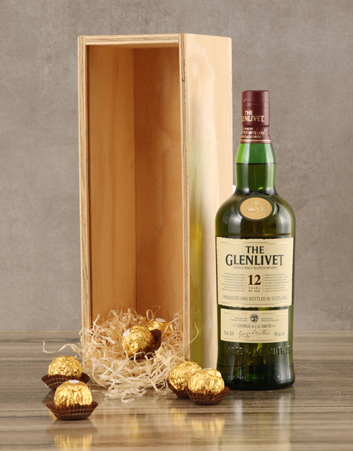 birthday: Glenlivet Twelve Year Crate!