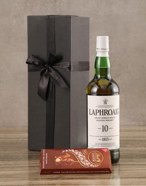 fine-alcohol: Laphroaig Ten Year Malt Gift Set!