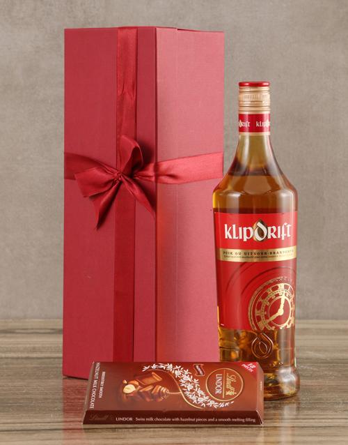 fine-alcohol: Klipdrift Export Brandy Set!