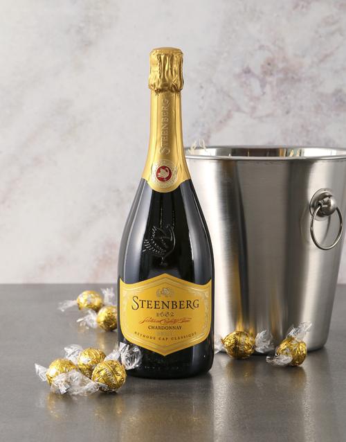 christmas: Steenburg Chardonnay MCC Gift Hamper!