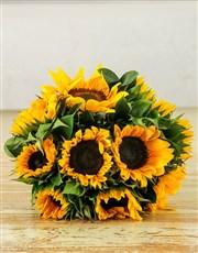Picture of Sunflower Sunrise Bouquet!
