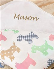 Picture of Personalised Puppy Print Picnic Blanket!