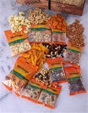 Picture of Wooden Crate of Dried Fruits and Nuts!