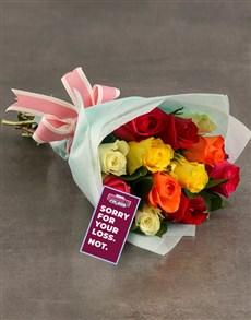 flowers: Aston Villa Bouquet!