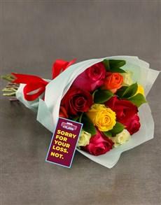 flowers: Burnley FC Bouquet!