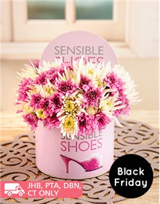 flowers: Sensible Shoes Tin of Sprays!