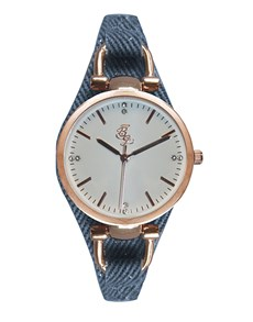gifts: Bad Girl Broadway Rose Gold and Navy Watch !