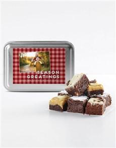 bakery: Personalised Chocolate Chunk Brownies!