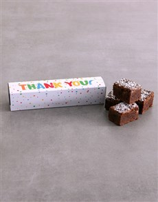 gifts: Thank You Brownie Box!