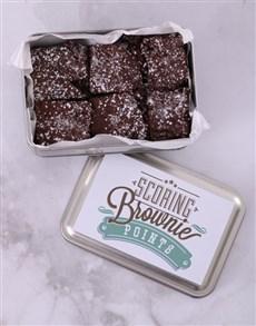 bakery: Chunky Chocolate Brownies!