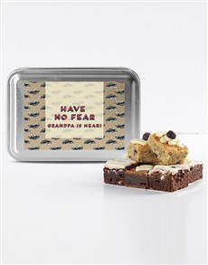 bakery: Gourmet Brownies for Grandpa!