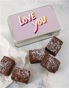 gifts: Love You Brownie Tin!