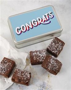 bakery: Congrats Brownie Tin!