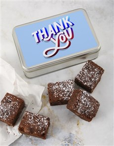 bakery: Brownie Tin Of Thanks!