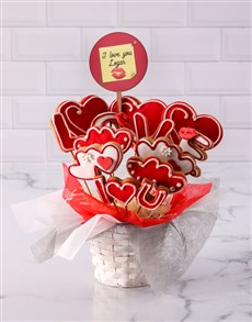 bakery: Personalised Lovely Cookie Bouquet!
