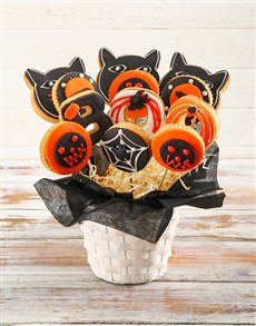 gifts: Spooky Cookie Bouquet!