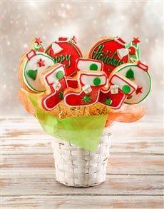 bakery: Happy Holidays Cookie Bouquet!