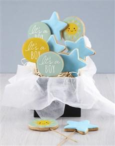 bakery: Its A Boy Cookie Bouquet!