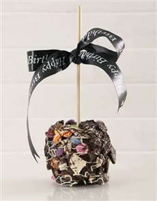 gifts: Chocolate Candy and Cookie Crunch Candy Apple!