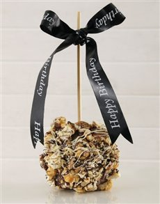 gifts: Caramel Popcorn and Pecan Candy Apple!