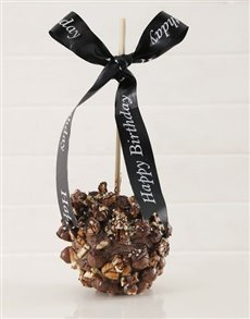 gifts: Bar One and Pecan Nut Candy Apple!