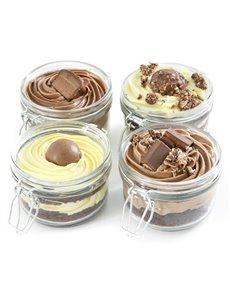 bakery: Chocolate Dream Cake Jar Combo!