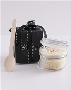 bakery: Single Vanilla Cupcake in a Jar!