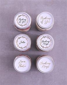bakery: Personalised Thinking of You Cake Jars!
