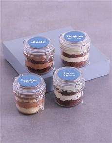 bakery: Personalised Sympathy Cupcake Jars!