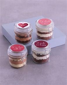 gifts: Personalised Love Cupcake Jars!