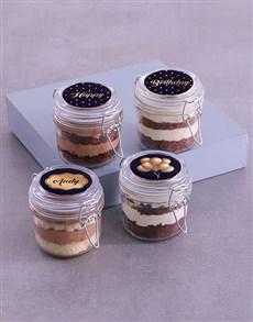 bakery: Personalised Birthday Lindt Cake Jars!