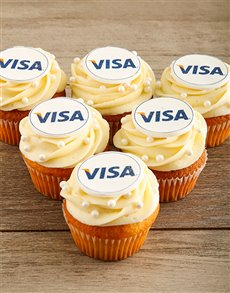 bakery: Vanilla Cupcakes with Your Logo!