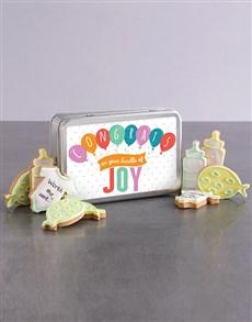 bakery: New Bundle of Joy Cookie Tin!