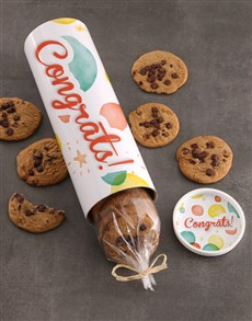 gifts: Congratulations Cookie Tube Surprise!