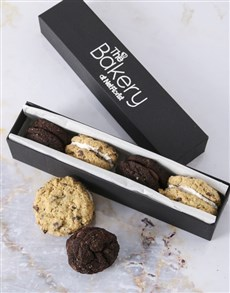 bakery: Chocolate Mix Cookie Sandwiches!