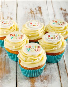 gifts: Thank You Cupcakes!