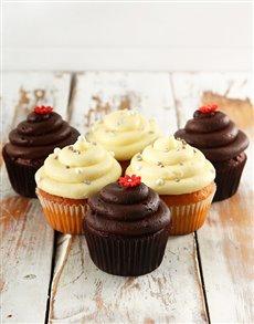 bakery: Chocolate and Vanilla Cupcake Combo!