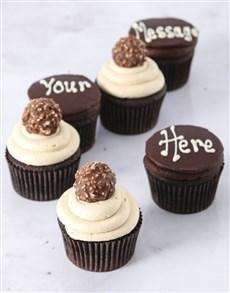 bakery: Personalised Ferrero Rocher Luxury Cupcakes!