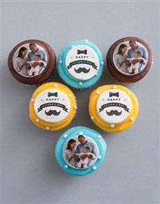 bakery: Fathers Day Photo Cupcakes!