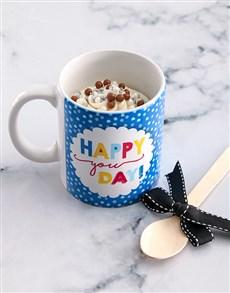 bakery: Happy Birthday Cake In A Mug!