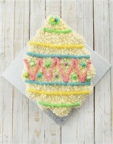 bakery: Giant Easter Egg Pull Apart Cupcake Cake!